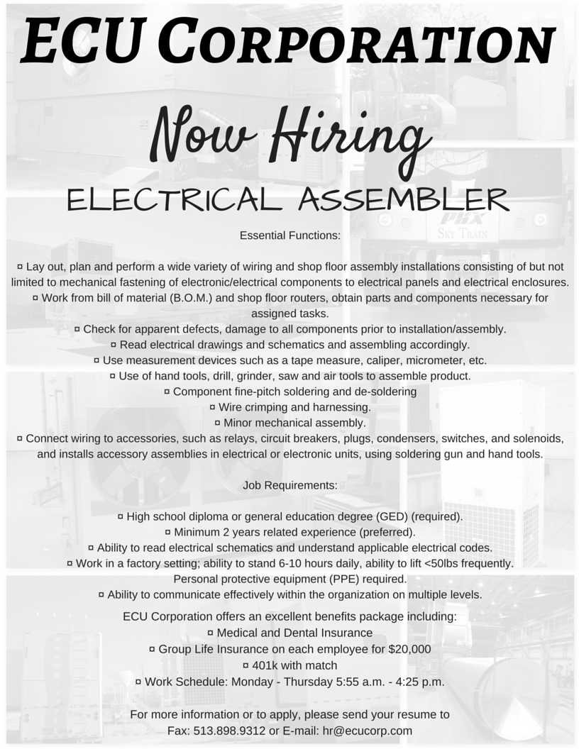 Mechanical Assembler Open Interviews